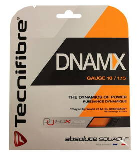 Tecnifibre DNAMX 18 1.15mm - Naciąg do squasha