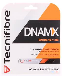 Tecnifibre DNAMX 16 1.25mm - Naciąg do squasha